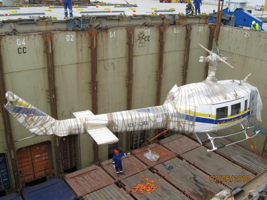 Helicóptero San Antonio de Chile
